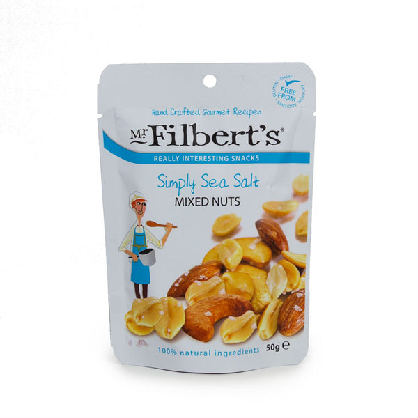Mr Filbert's Simply Sea Salt Mixed Nuts