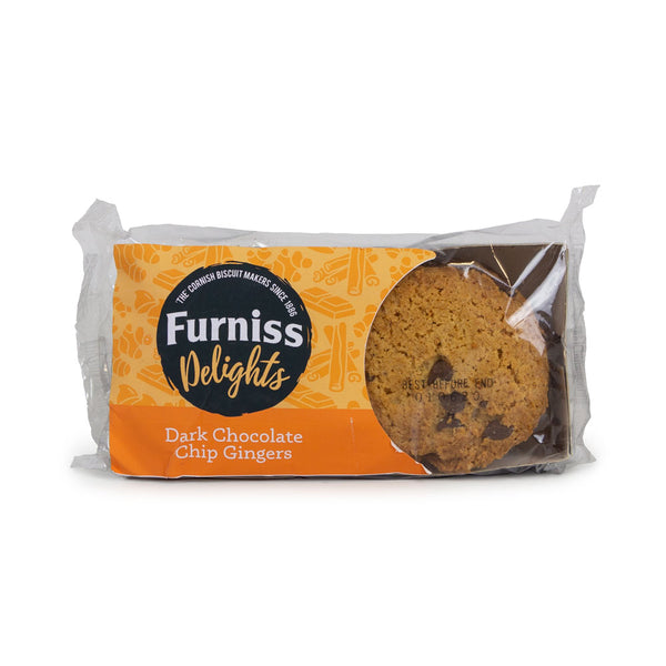 Furniss Dark Chocolate Chip Ginger Biscuits