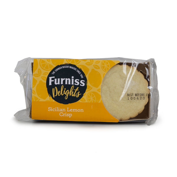 Furniss Sicilian Lemon Crisp Biscuits