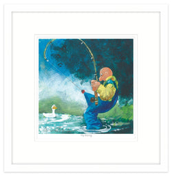 Fly Fishing Framed