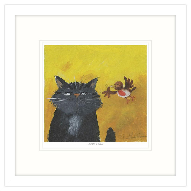 Catman Framed Art Print