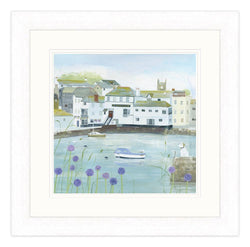 Falmouth Flowers Large Framed Print