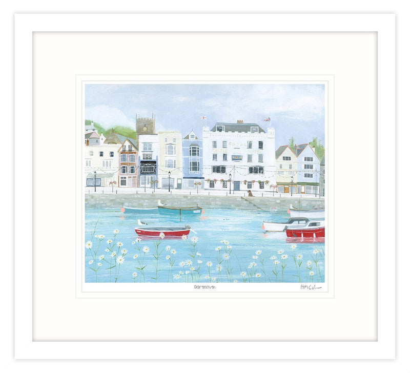 Dartmouth Framed Print