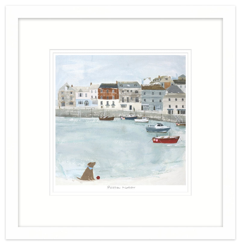 Padstow Harbour 2 Framed