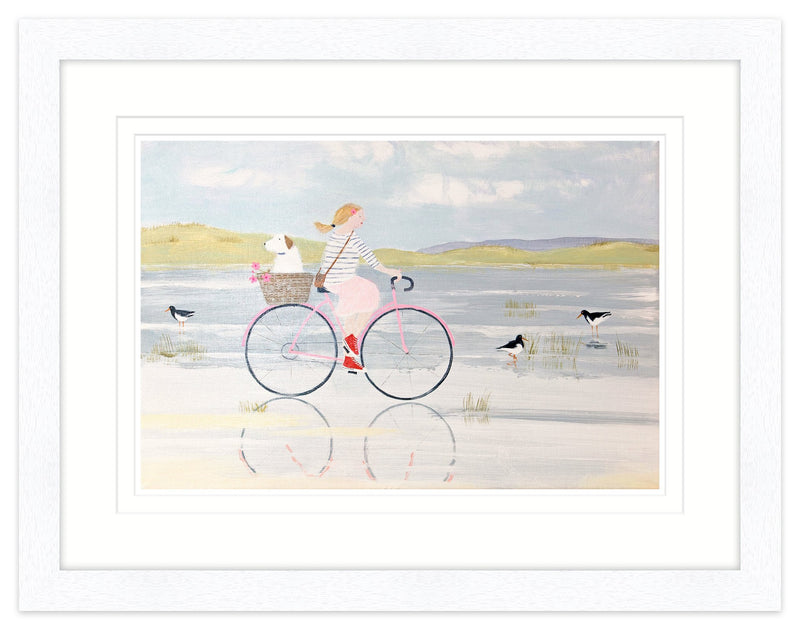 Oyster Catchers Framed
