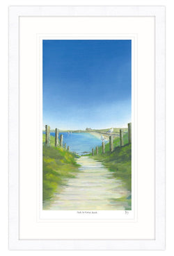 Path To Fistral Beach Framed Print
