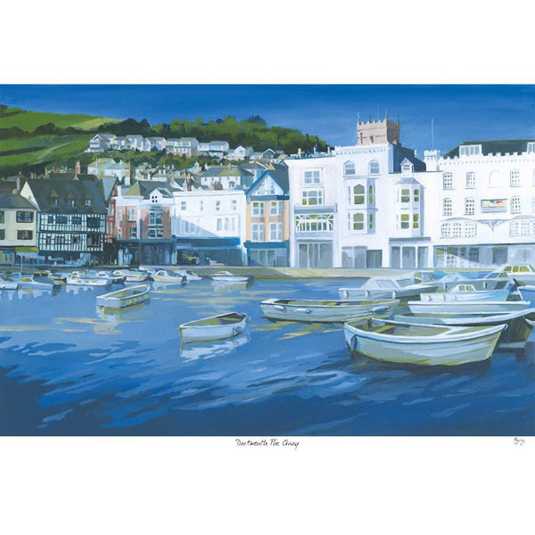 Dartmouth The Quay Art Print
