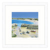 Overlooking Newquay Harbour Framed Print