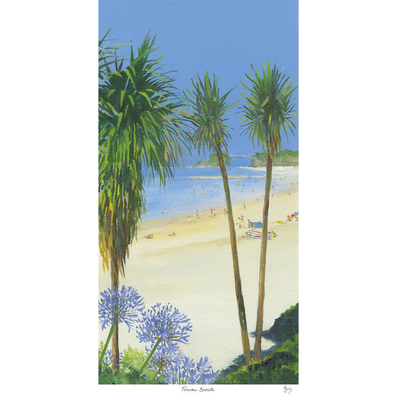 Towan Beach Art Print