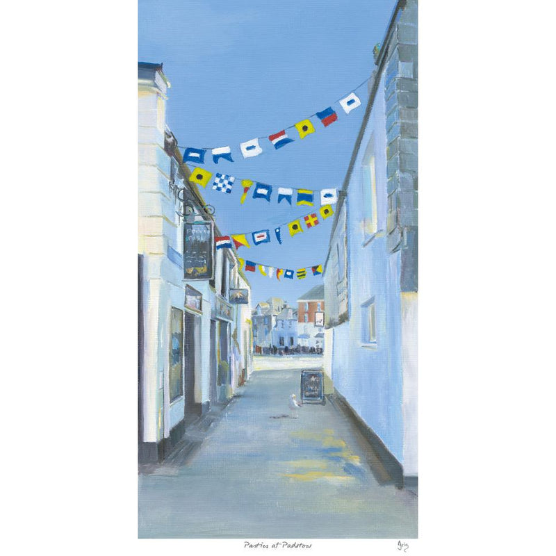 Pasties At Padstow Art Print
