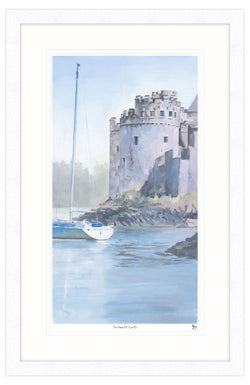 Dartmouth Castle Framed