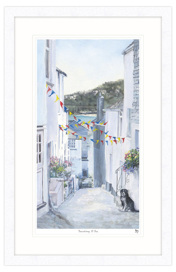 Downalong St Ives Framed