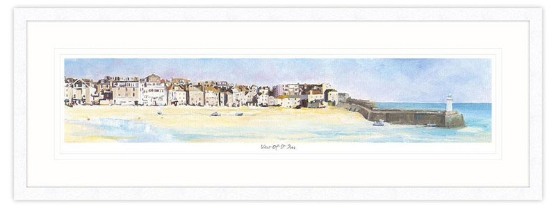 View of St Ives Framed