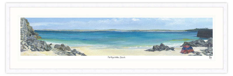 Porthgwidden Beach Framed