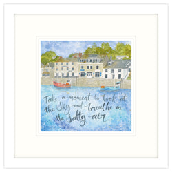The Salty Air Framed Print