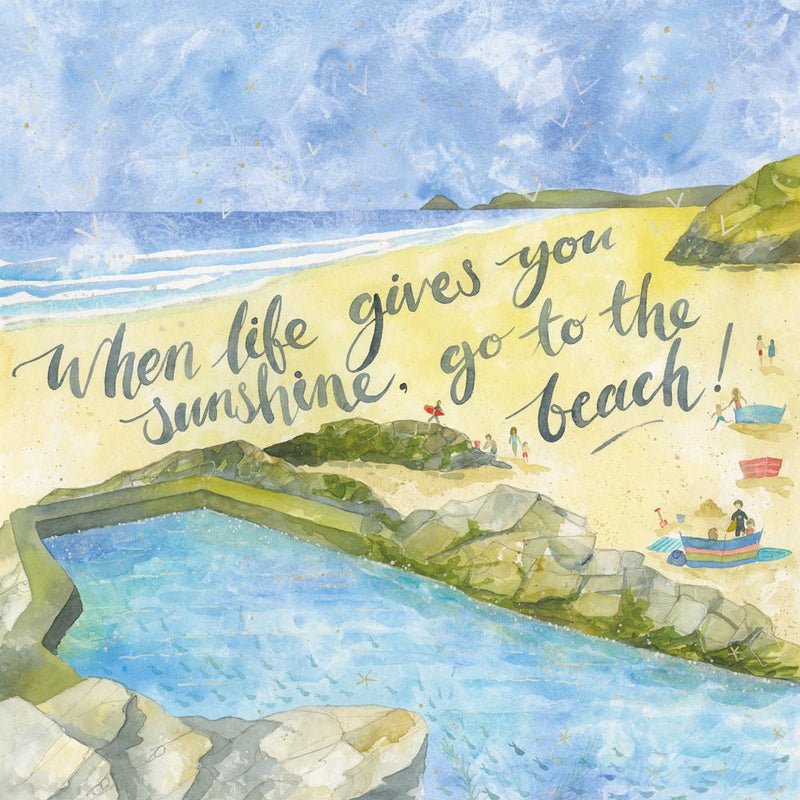 When Life Gives You Sunshine Art Print