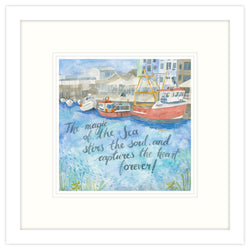 The Magic Of The Sea Framed Print