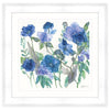 Mixed Blue Roses and Phlox Framed Print