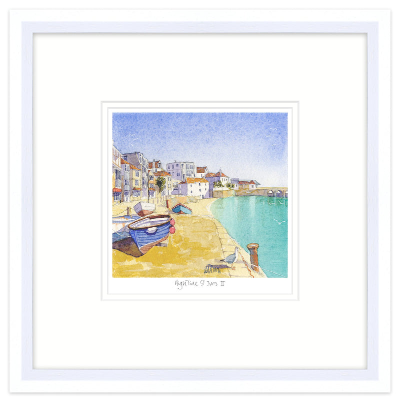 High Tide St Ives 2 Framed