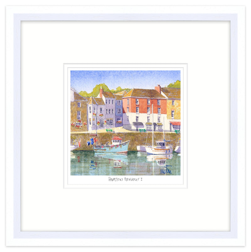 Padstow Harbour 1 Framed