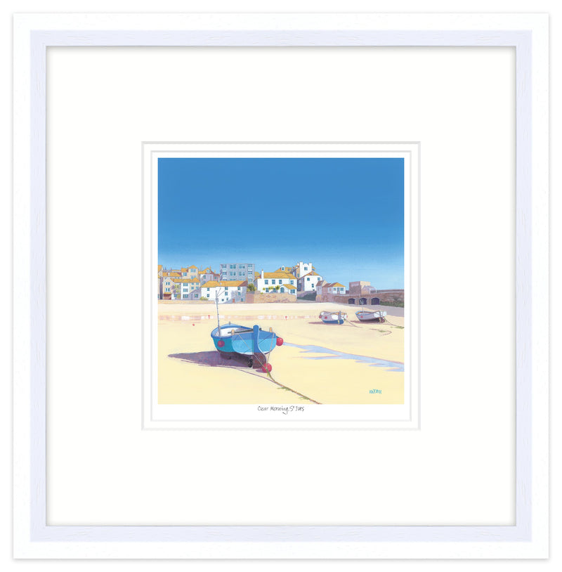 Clear Morning St Ives Framed