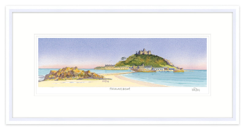 St Michael's Mount Framed 1