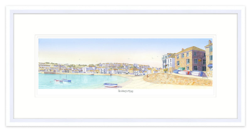 The Wharf St Ives Framed