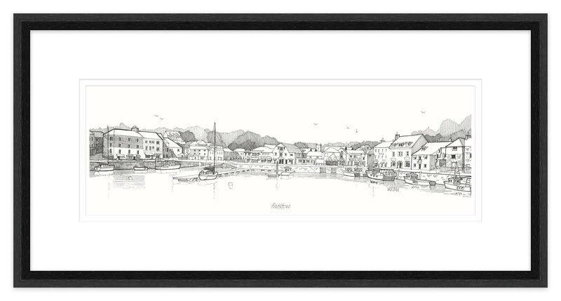 Padstow 3 Framed