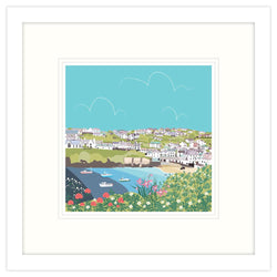 Port Isaac Coastal Framed Print
