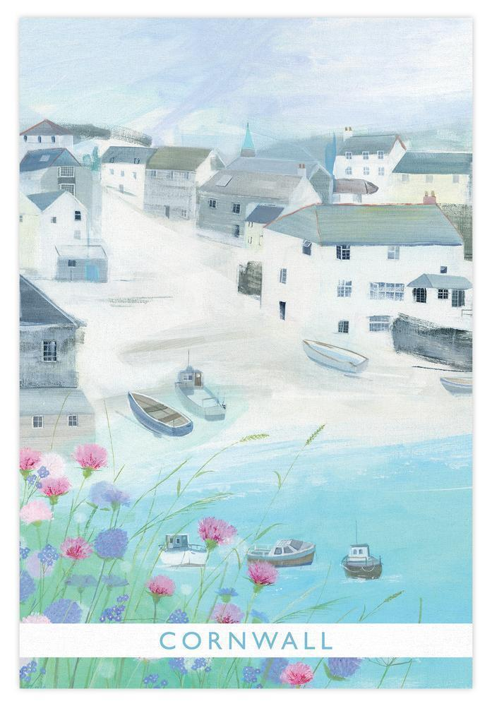 Little Harbour Floral Tea Towel