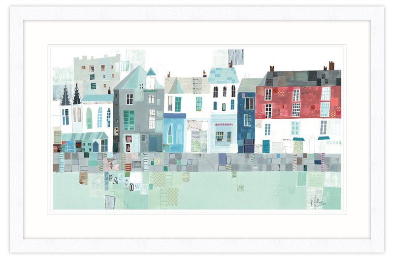 Padstow Harbour Front Framed
