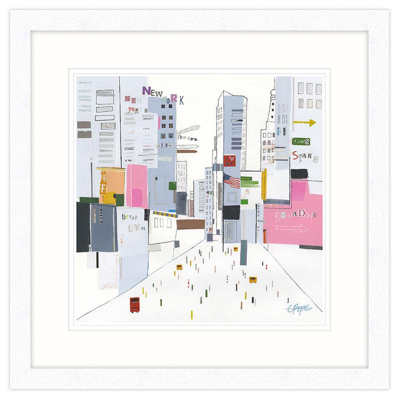 Times Square New York Framed Art Print