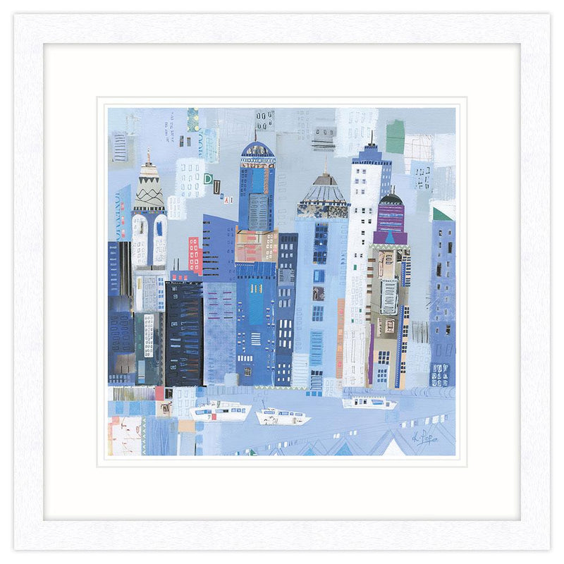 Dubai Art Framed Print
