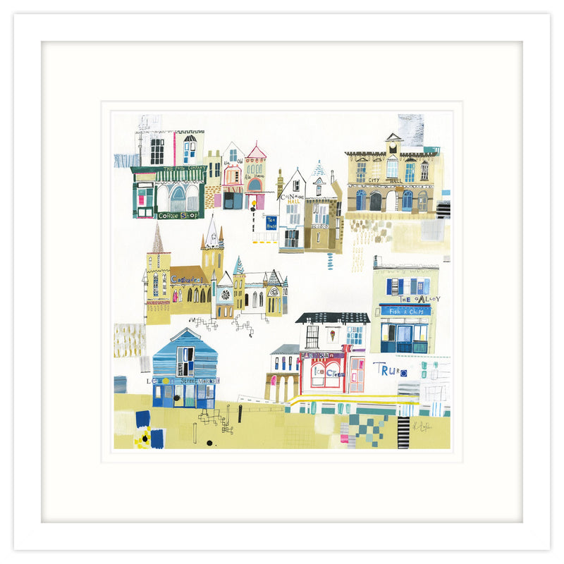 This Is Truro Framed Print