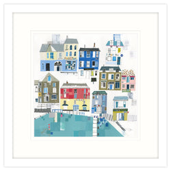 This Is Padstow Framed Print