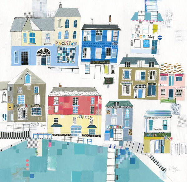 This Is Padstow Art Print