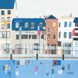 Plymouth Barbican Art Print
