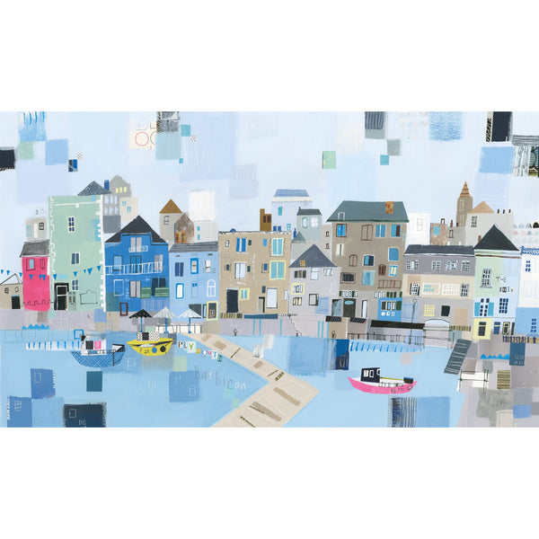 Barbican Harbour Art Print