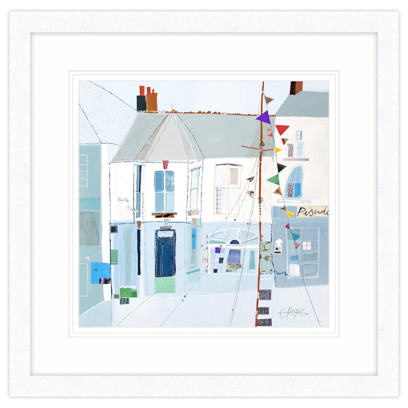 South Quay Padstow Framed