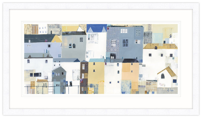Textures of St Ives Framed