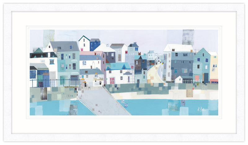 St Ives Slipway Framed