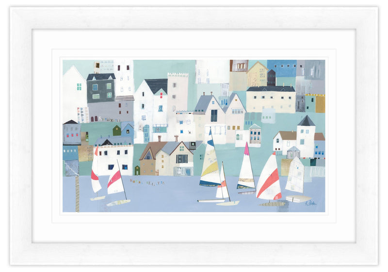 Dartmouth Regatta Framed