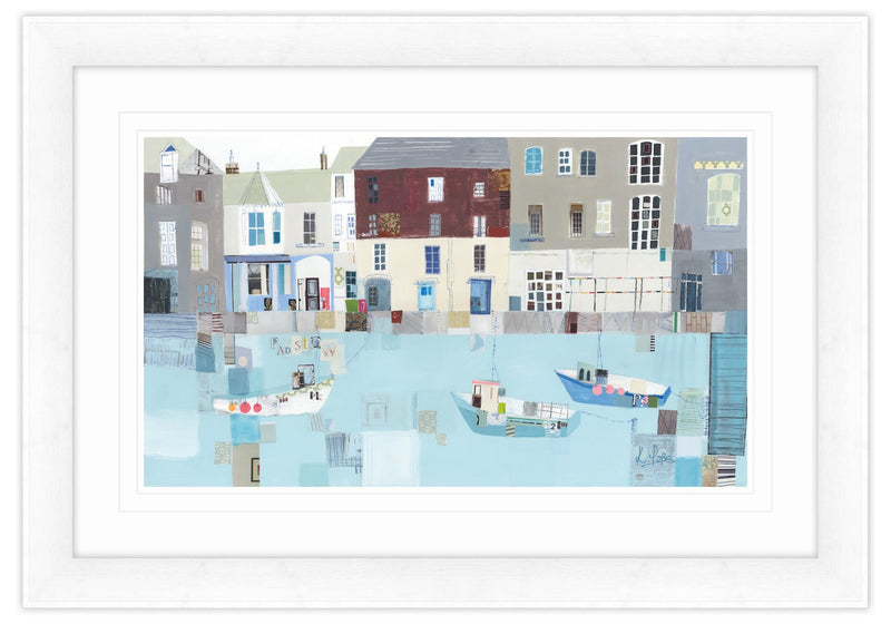 Charming Padstow Framed