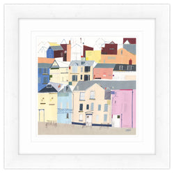 Colours of Dartmouth Framed