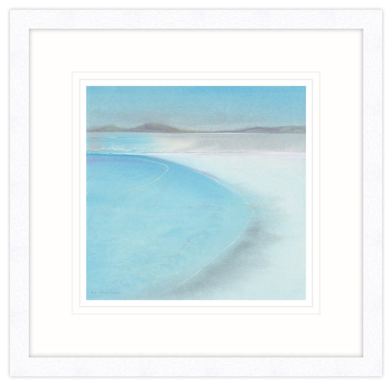 Turquoise Views Framed Print