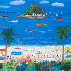 St Michael's Mount Art Print
