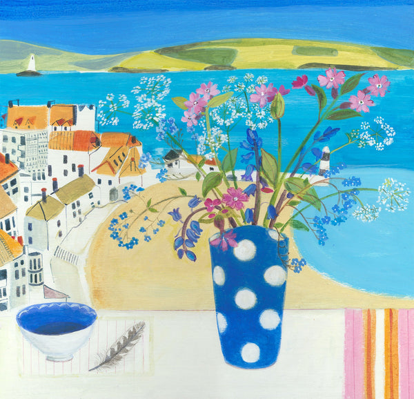 St Ives Hedgerow Print