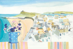 Porthmeor Window Print