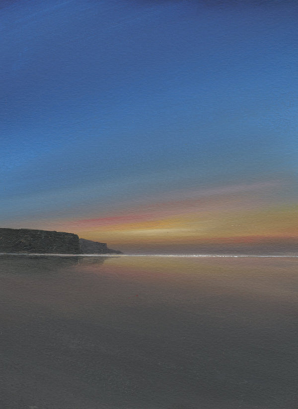 Afterglow, Mawgan Porth Print
