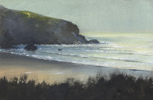 Mawgan Porth Evening Coastal Art Print